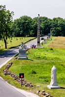Regimental Monuments on Oak Hill