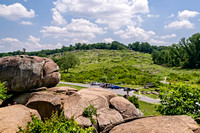 Little Round Top from Devil's Den