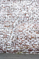 Whitewash Brick Wall
